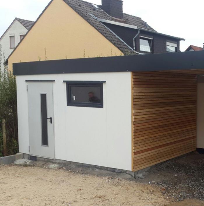 Carport Typ   CAPO Massiv – garagenbox.com – günstige Fertiggaragen