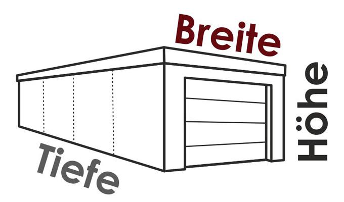 grundriss garagen systembox. Black Bedroom Furniture Sets. Home Design Ideas