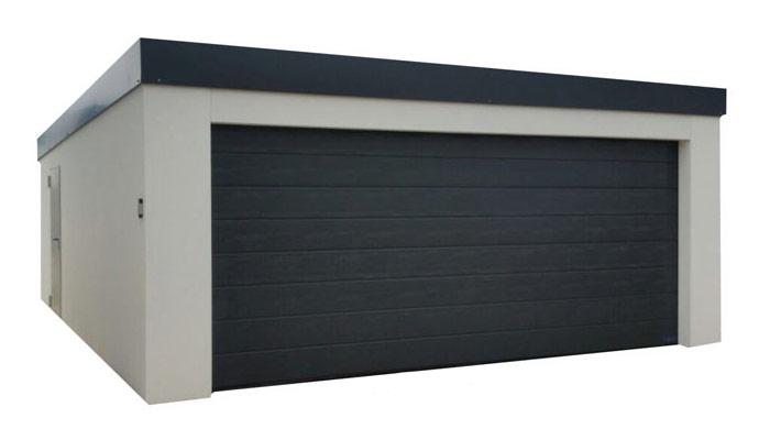 Hervorragend garagenbox.com – günstige Fertiggaragen – Fertiggaragen und Carports FG83